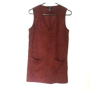 Forever 21 Faux Suede Dress